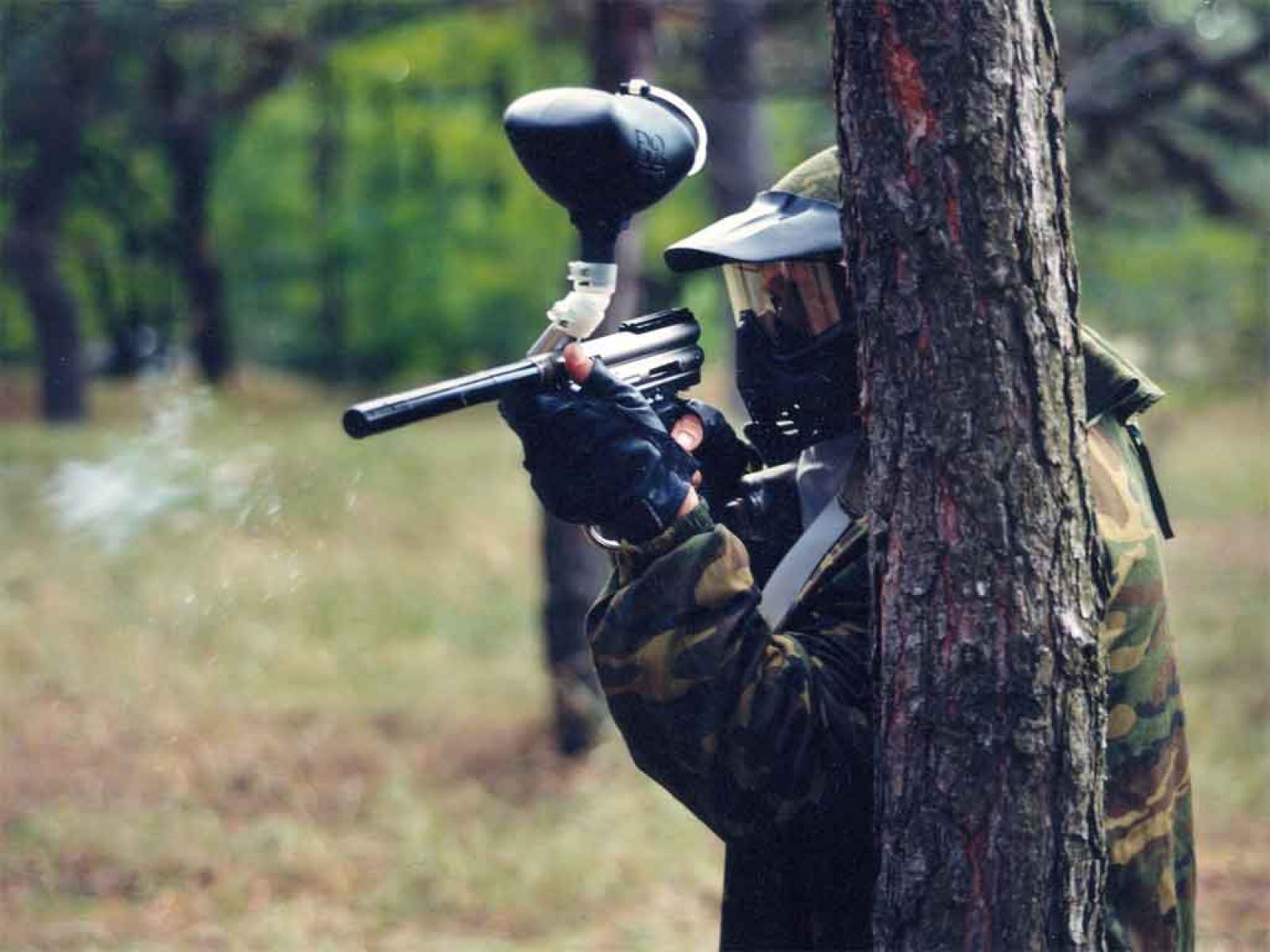 Paintball ext rieur for Paintball lyon exterieur