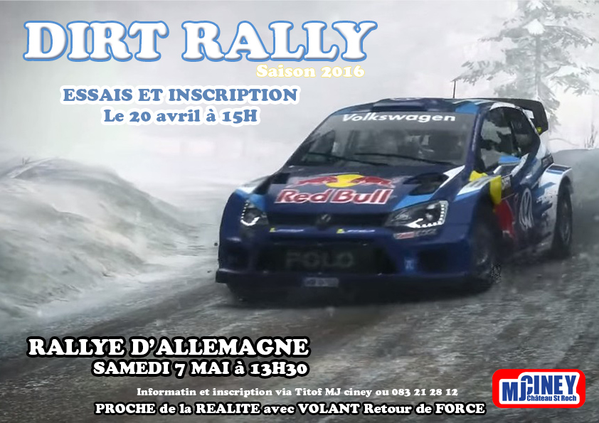 Dirt Rally Saison