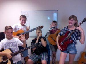 atelier de guitare
